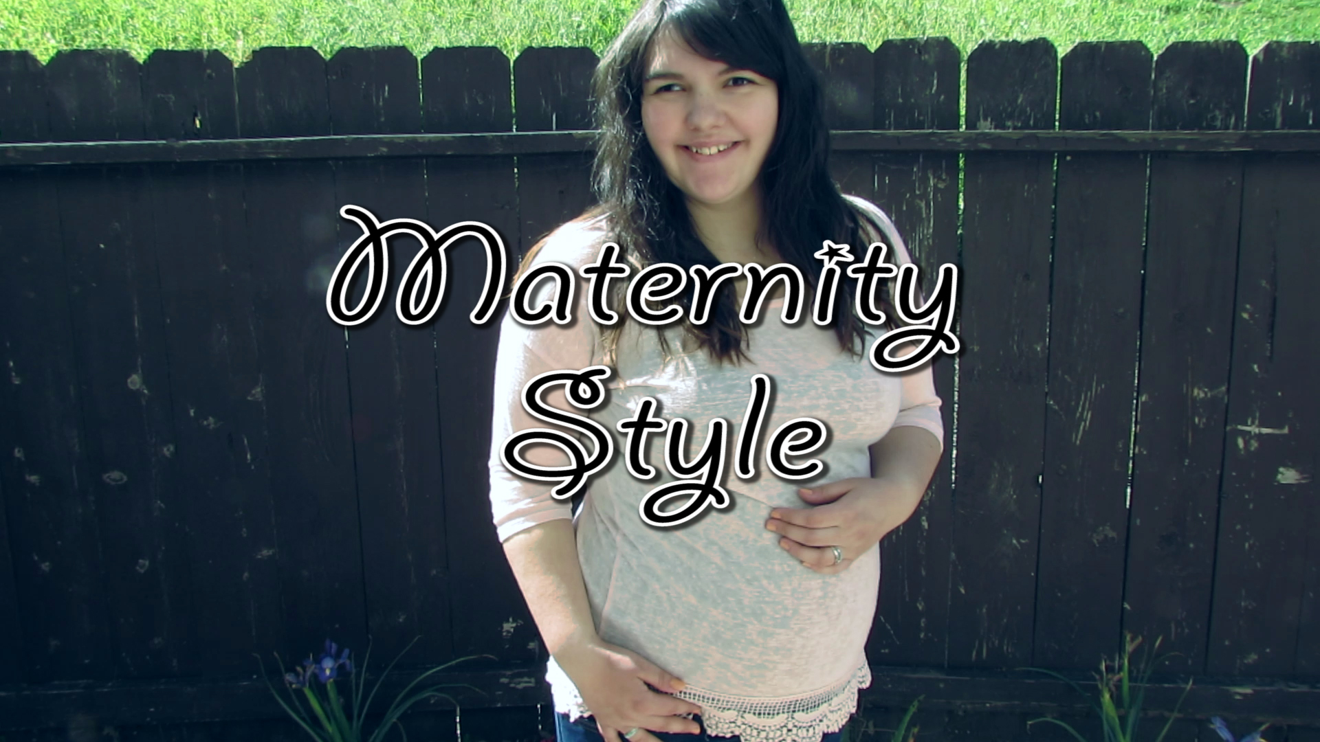 maternity lookbook maggie winterton youtube video vlogger christian lifestyle